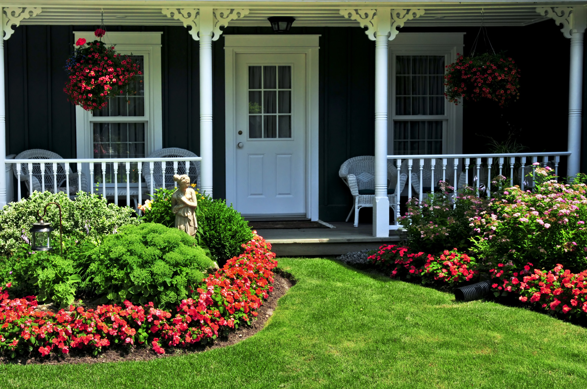 small front yard